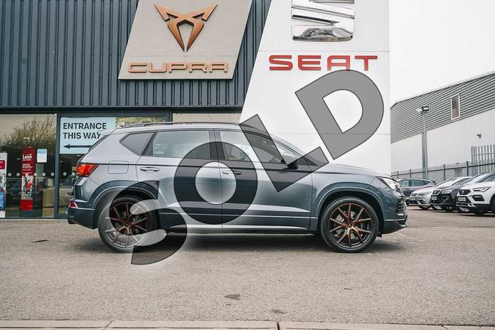 Image four of this 2021 Cupra Ateca Estate 2.0 TSI VZ1 5dr DSG 4Drive in Grey at Listers SEAT Coventry