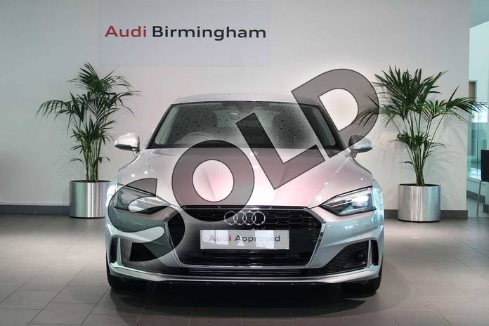 Image seven of this 2021 Audi A5 Sportback 35 TFSI Sport 5dr S Tronic in Floret Silver Metallic at Birmingham Audi