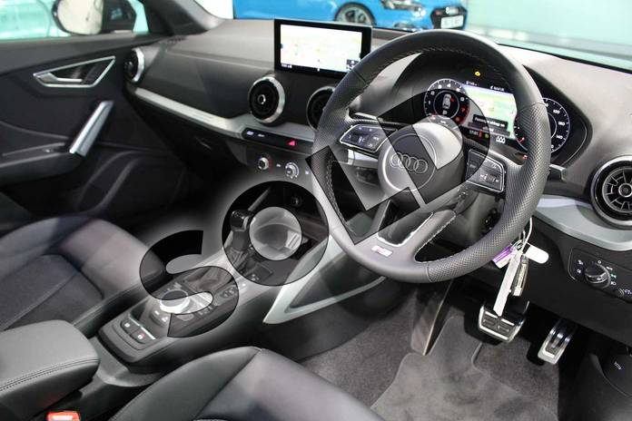 Image six of this 2021 Audi Q2 35 TFSI S Line 5dr S Tronic in Daytona Grey Pearlescent at Birmingham Audi