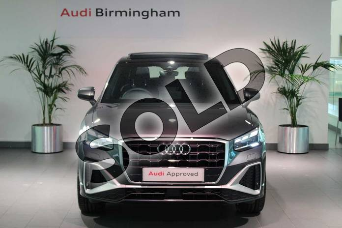 Image seven of this 2021 Audi Q2 35 TFSI S Line 5dr S Tronic in Daytona Grey Pearlescent at Birmingham Audi