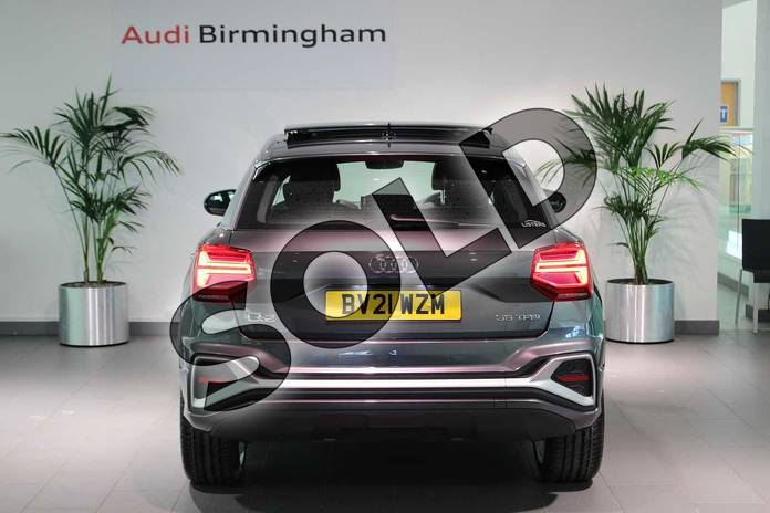 Image fourteen of this 2021 Audi Q2 35 TFSI S Line 5dr S Tronic in Daytona Grey Pearlescent at Birmingham Audi