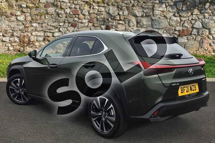 Image two of this 2021 Lexus UX250h Takumi in Terrane Khaki at Lexus Coventry