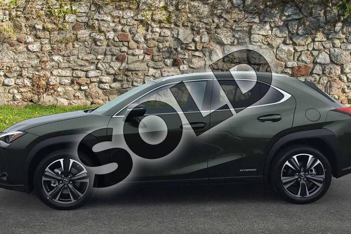 Image three of this 2021 Lexus UX250h Takumi in Terrane Khaki at Lexus Coventry