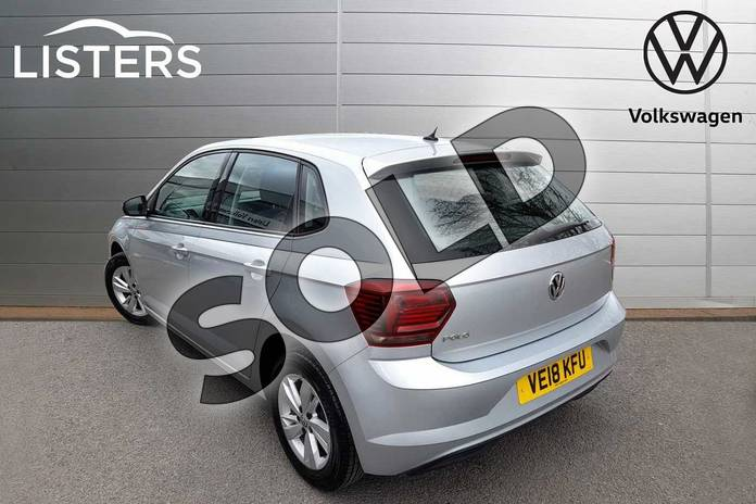 Image three of this 2018 Volkswagen Polo Hatchback 1.0 TSI 95 SE 5dr DSG in Reflex Silver at Listers Volkswagen Worcester