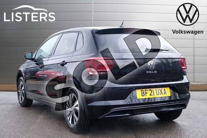 Image three of this 2021 Volkswagen Polo Hatchback 1.0 TSI 95 Match 5dr in Deep Black at Listers Volkswagen Leamington Spa