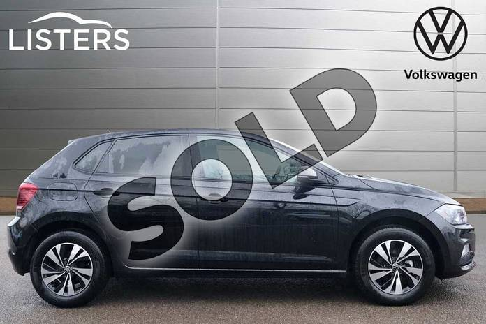 Image four of this 2021 Volkswagen Polo Hatchback 1.0 TSI 95 Match 5dr in Deep Black at Listers Volkswagen Leamington Spa