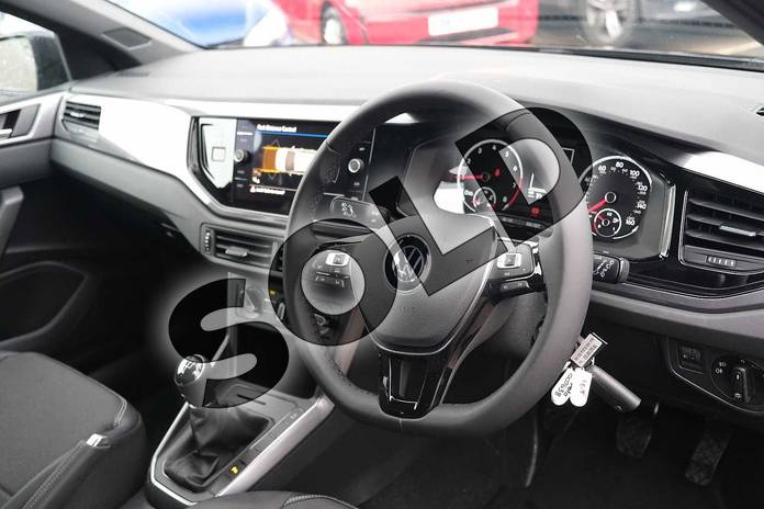 Image six of this 2021 Volkswagen Polo Hatchback 1.0 TSI 95 Match 5dr in Deep Black at Listers Volkswagen Leamington Spa