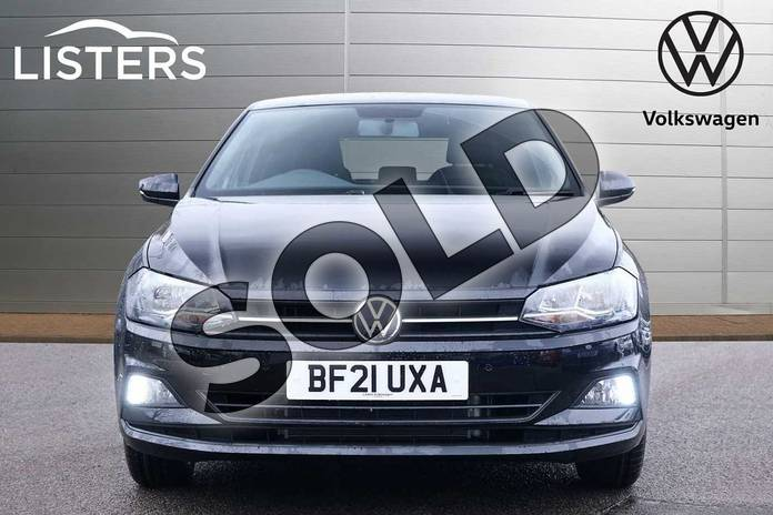 Image seven of this 2021 Volkswagen Polo Hatchback 1.0 TSI 95 Match 5dr in Deep Black at Listers Volkswagen Leamington Spa
