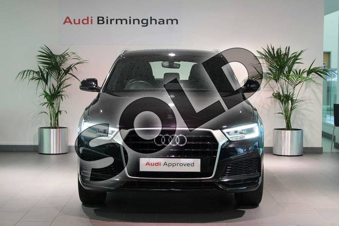 Image seven of this 2017 Audi Q3 Estate Special Editions 2.0 TDI S Line Edition 5dr in Myth Black Metallic at Birmingham Audi