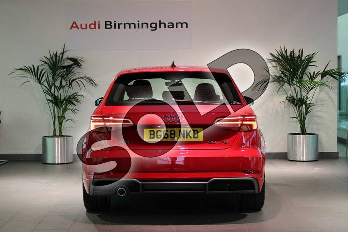 Image twelve of this 2018 Audi A3 Sportback 30 TFSI 116 S Line 5dr S Tronic in Tango Red Metallic at Birmingham Audi