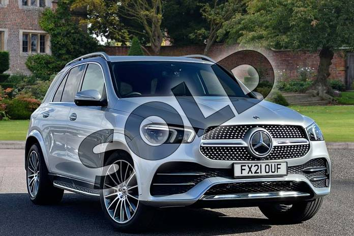 2021 Mercedes-Benz GLE Diesel Estate GLE 300d 4Matic AMG Line Prem 5dr 9G-Tronic (7 St) in Iridium Silver Metallic at Mercedes-Benz of Lincoln