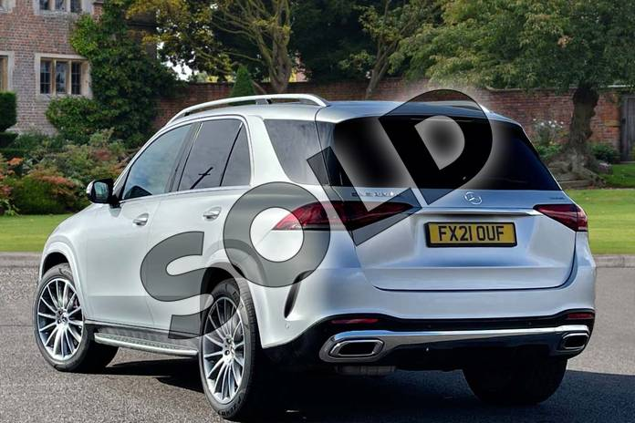 Image two of this 2021 Mercedes-Benz GLE Diesel Estate GLE 300d 4Matic AMG Line Prem 5dr 9G-Tronic (7 St) in Iridium Silver Metallic at Mercedes-Benz of Lincoln