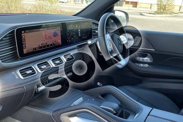Image three of this 2021 Mercedes-Benz GLE Diesel Estate GLE 300d 4Matic AMG Line Prem 5dr 9G-Tronic (7 St) in Iridium Silver Metallic at Mercedes-Benz of Lincoln