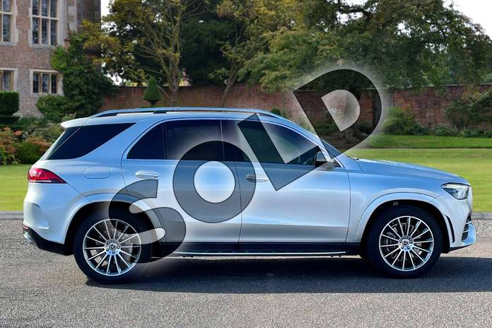 Image four of this 2021 Mercedes-Benz GLE Diesel Estate GLE 300d 4Matic AMG Line Prem 5dr 9G-Tronic (7 St) in Iridium Silver Metallic at Mercedes-Benz of Lincoln