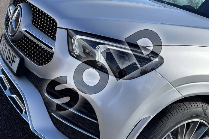 Image ten of this 2021 Mercedes-Benz GLE Diesel Estate GLE 300d 4Matic AMG Line Prem 5dr 9G-Tronic (7 St) in Iridium Silver Metallic at Mercedes-Benz of Lincoln