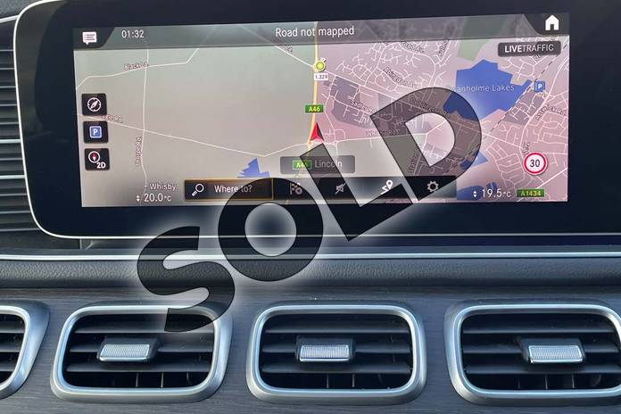 Image twenty-four of this 2021 Mercedes-Benz GLE Diesel Estate GLE 300d 4Matic AMG Line Prem 5dr 9G-Tronic (7 St) in Iridium Silver Metallic at Mercedes-Benz of Lincoln