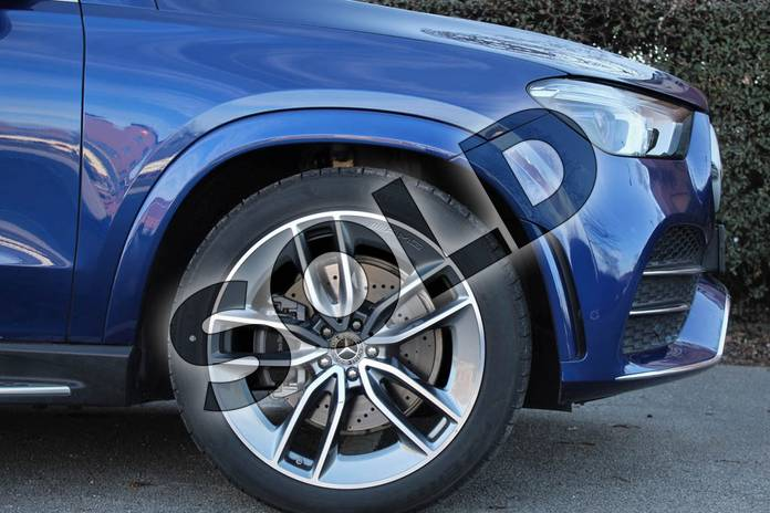 Image five of this 2021 Mercedes-Benz GLE Diesel Estate GLE 350d 4Matic AMG Line Prem 5dr 9G-Tronic (7 St) in brilliant blue metallic at Mercedes-Benz of Lincoln