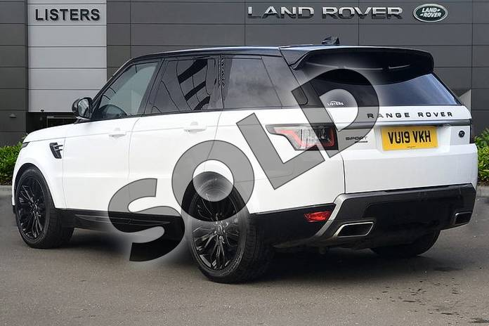 Image two of this 2019 Range Rover Sport Diesel Estate 3.0 SDV6 HSE 5dr Auto in Fuji White at Listers Land Rover Droitwich