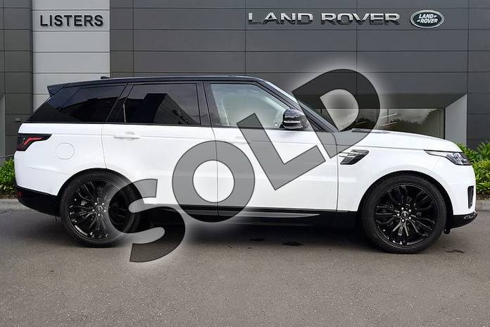 Image five of this 2019 Range Rover Sport Diesel Estate 3.0 SDV6 HSE 5dr Auto in Fuji White at Listers Land Rover Droitwich