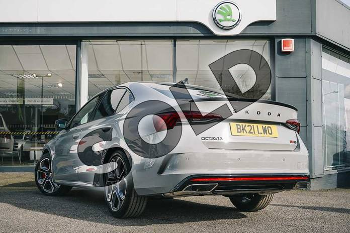 Image three of this 2021 Skoda Octavia Hatch vRS 2.0 TSI 245PS DSG in Meteor Grey at Listers ŠKODA Coventry