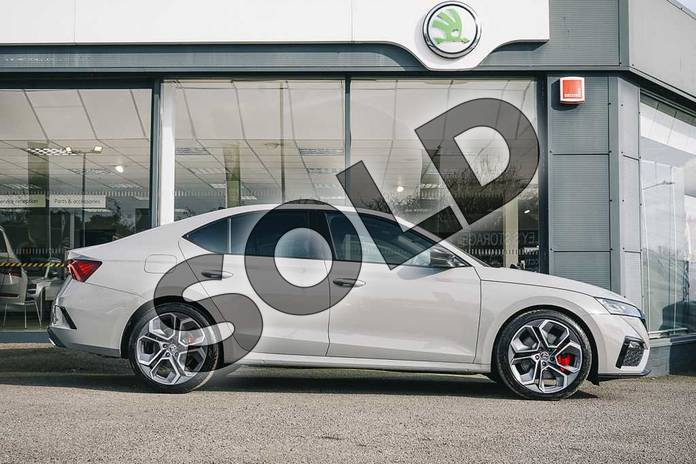 Image four of this 2021 Skoda Octavia Hatch vRS 2.0 TSI 245PS DSG in Meteor Grey at Listers ŠKODA Coventry