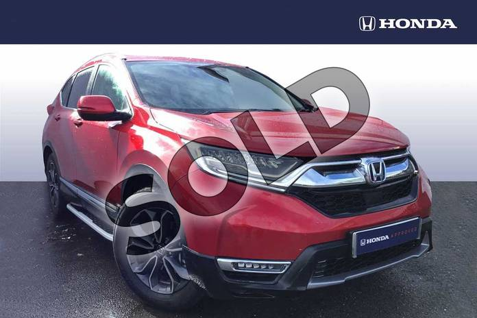 2021 Honda CR-V Estate 2.0 i-MMD Hybrid SR  2WD 5dr eCVT in Crystal Red at Listers Honda Solihull