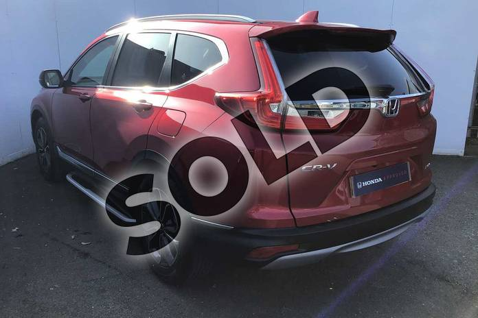 Image three of this 2021 Honda CR-V Estate 2.0 i-MMD Hybrid SR  2WD 5dr eCVT in Crystal Red at Listers Honda Solihull