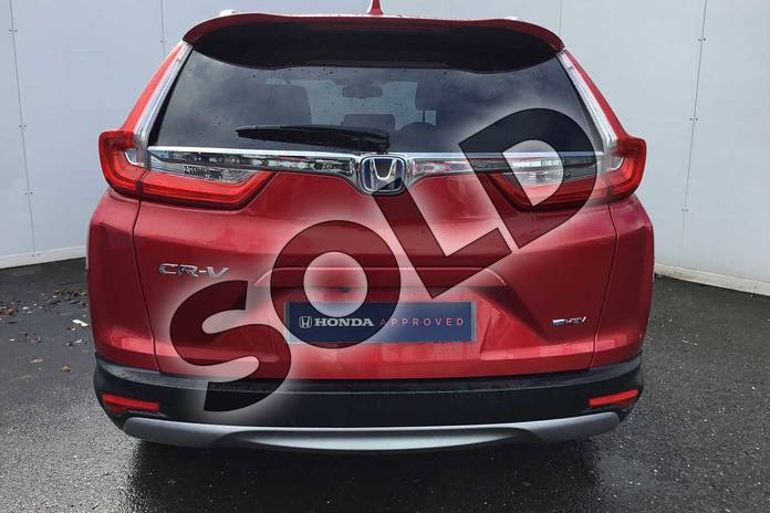Image seven of this 2021 Honda CR-V Estate 2.0 i-MMD Hybrid SR  2WD 5dr eCVT in Crystal Red at Listers Honda Solihull