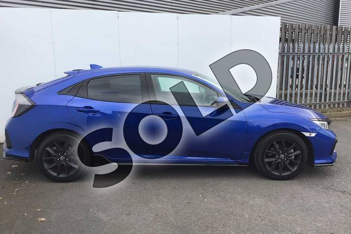 Image five of this 2021 Honda Civic Hatchback 1.5 VTEC Turbo Sport 5dr in Brilliant Sporty Blue at Listers Honda Solihull