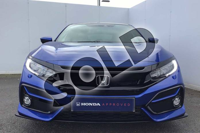 Image six of this 2021 Honda Civic Hatchback 1.5 VTEC Turbo Sport 5dr in Brilliant Sporty Blue at Listers Honda Solihull