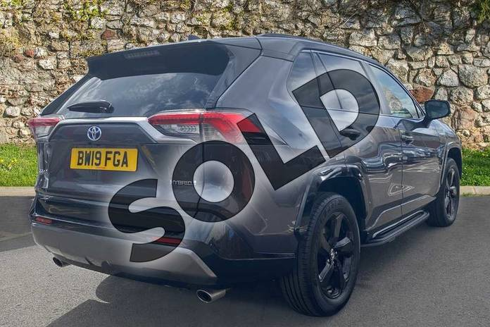 Image two of this 2019 Toyota RAV4 Estate 2.5 VVT-i Hybrid Dynamic 5dr CVT in Black at Listers Toyota Coventry