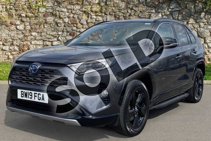 Image three of this 2019 Toyota RAV4 Estate 2.5 VVT-i Hybrid Dynamic 5dr CVT in Black at Listers Toyota Coventry