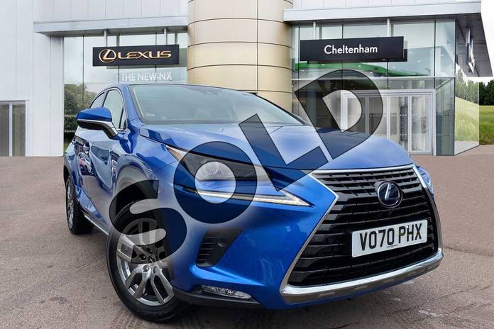 Picture of Lexus NX 300h 2.5 5dr CVT (Premium Pack/Pan roof) in Blue