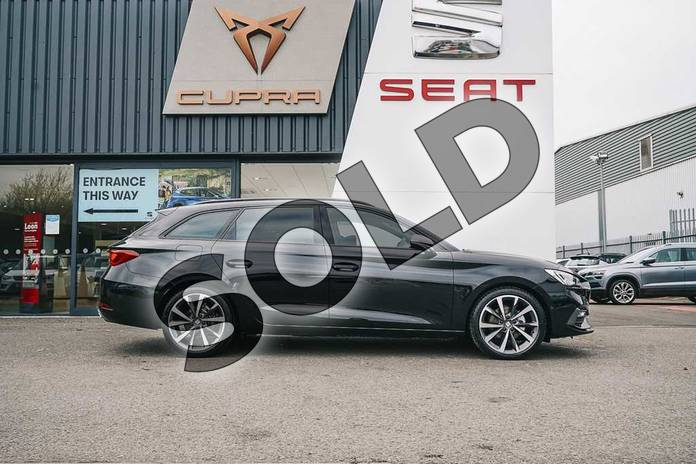 Image four of this 2021 SEAT Leon Estate 1.5 eTSI 150 FR Sport 5dr DSG in Black at Listers SEAT Coventry