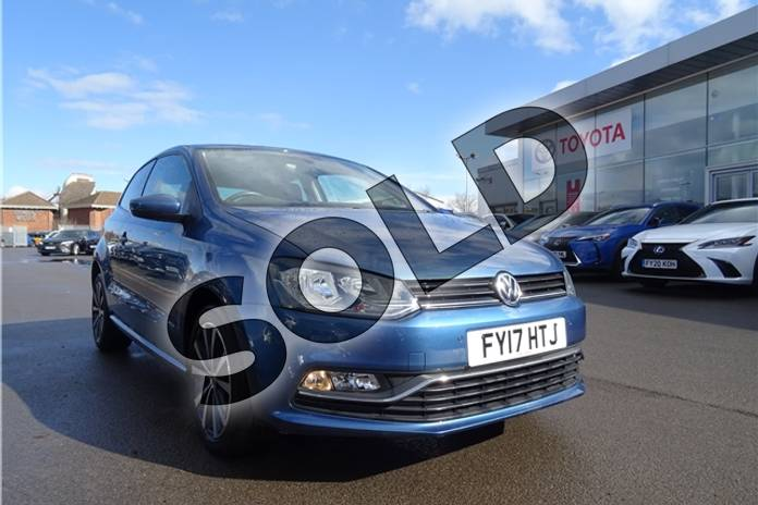 2017 Volkswagen Polo Hatchback 1.2 TSI Match Edition 3dr DSG in Metallic - Reflex silver at Listers Toyota Lincoln