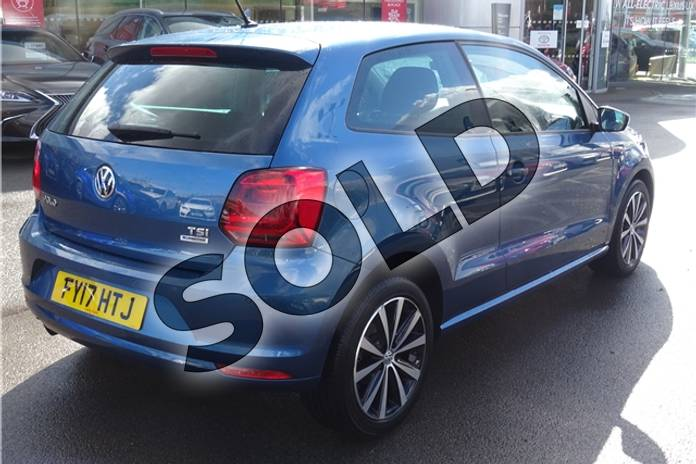 Image ten of this 2017 Volkswagen Polo Hatchback 1.2 TSI Match Edition 3dr DSG in Metallic - Reflex silver at Listers Toyota Lincoln