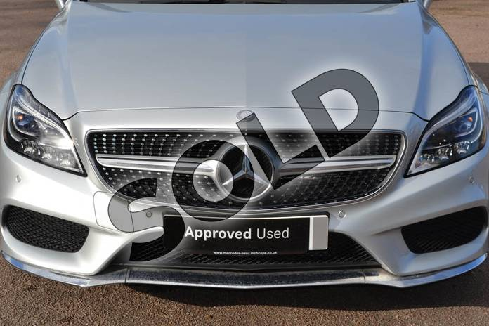 Image twenty-nine of this 2015 Mercedes-Benz CLS Diesel Coupe CLS 350 BlueTEC AMG Line Premium 4dr 9G-Tronic in Iridium Silver Metallic at Mercedes-Benz of Grimsby