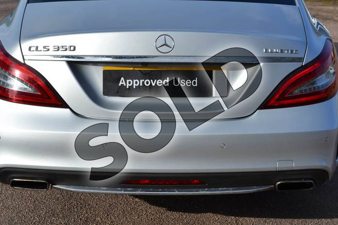 Image thirty of this 2015 Mercedes-Benz CLS Diesel Coupe CLS 350 BlueTEC AMG Line Premium 4dr 9G-Tronic in Iridium Silver Metallic at Mercedes-Benz of Grimsby
