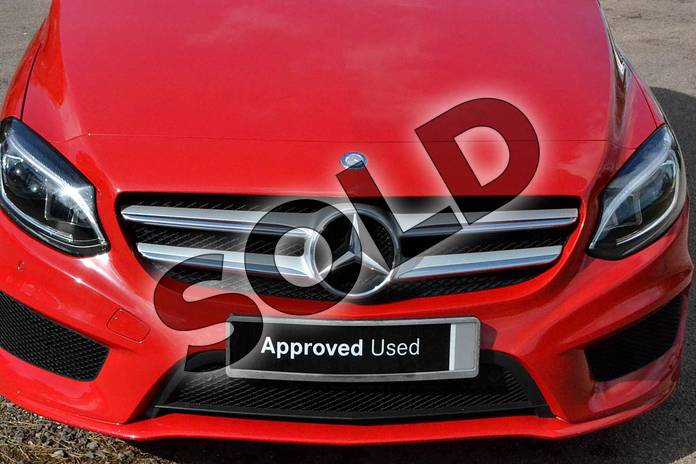 Image thirty-one of this 2016 Mercedes-Benz B Class Diesel Hatchback B200d AMG Line Premium 5dr Auto in Jupiter Red at Mercedes-Benz of Grimsby