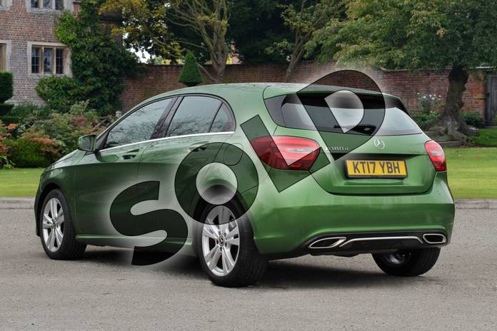 Image two of this 2017 Mercedes-Benz A Class Diesel Hatchback A180d Sport 5dr Auto in Elbaite green at Mercedes-Benz of Lincoln