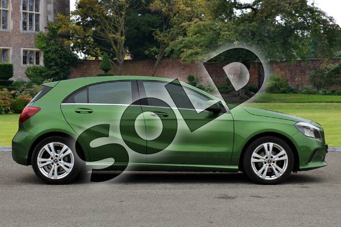 Image four of this 2017 Mercedes-Benz A Class Diesel Hatchback A180d Sport 5dr Auto in Elbaite green at Mercedes-Benz of Lincoln