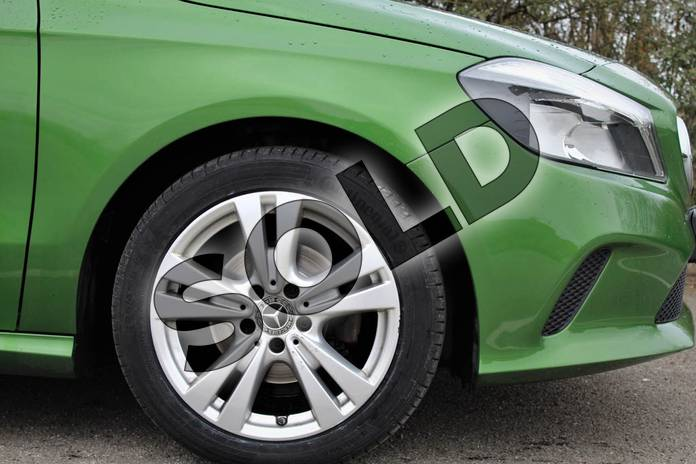 Image five of this 2017 Mercedes-Benz A Class Diesel Hatchback A180d Sport 5dr Auto in Elbaite green at Mercedes-Benz of Lincoln