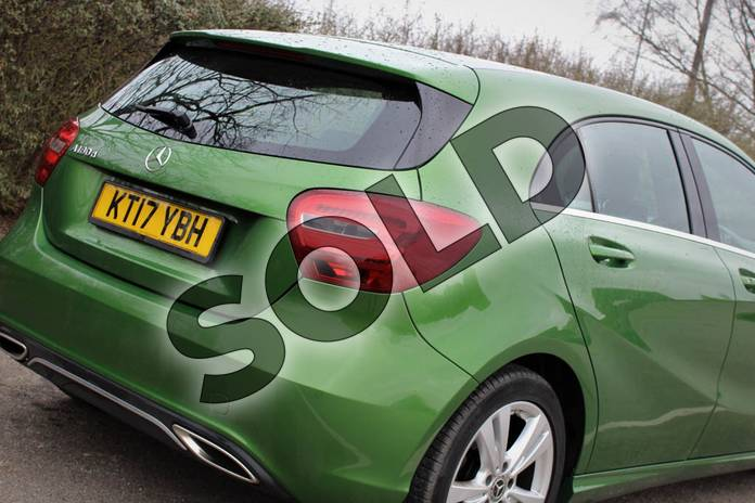 Image twenty-three of this 2017 Mercedes-Benz A Class Diesel Hatchback A180d Sport 5dr Auto in Elbaite green at Mercedes-Benz of Lincoln