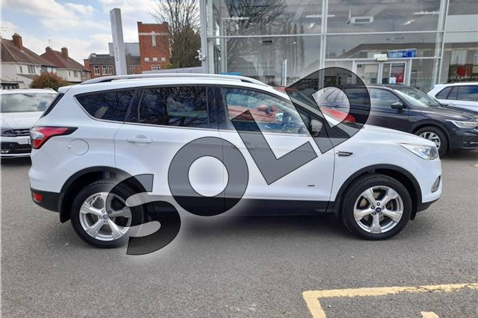 Image four of this 2017 Ford Kuga Diesel Estate 2.0 TDCi 180 Titanium 5dr Auto in Special solid - Frozen white at Listers Volkswagen Worcester