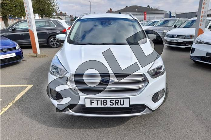 Image seven of this 2017 Ford Kuga Diesel Estate 2.0 TDCi 180 Titanium 5dr Auto in Special solid - Frozen white at Listers Volkswagen Worcester