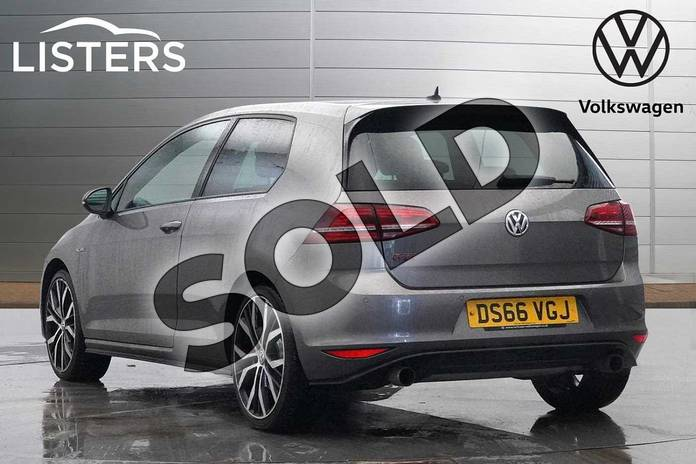 Image three of this 2016 Volkswagen Golf Hatchback 2.0 TSI GTI 3dr (Performance Pack) in Limestone Grey at Listers Volkswagen Worcester