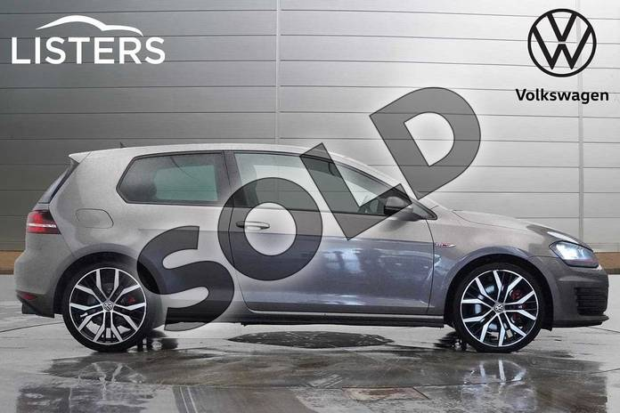 Image four of this 2016 Volkswagen Golf Hatchback 2.0 TSI GTI 3dr (Performance Pack) in Limestone Grey at Listers Volkswagen Worcester