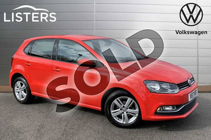 Picture of Volkswagen Polo 1.2 TSI Match Edition 5dr in Flash Red