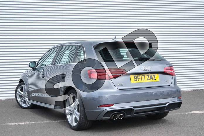 Image three of this 2017 Audi A3 Sportback 1.4 TFSI S Line 5dr S Tronic in Monsoon Grey Metallic at Coventry Audi