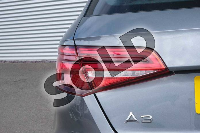 Image eight of this 2017 Audi A3 Sportback 1.4 TFSI S Line 5dr S Tronic in Monsoon Grey Metallic at Coventry Audi